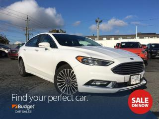 Used 2017 Ford Fusion Navigation, All Wheel Drive, Bluetooth, Sunroof for sale in Vancouver, BC