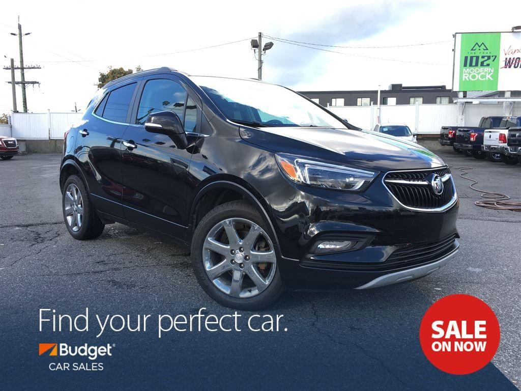 used 2017 buick encore blind spot detection navigation all wheel drive for sale in vancouver. Black Bedroom Furniture Sets. Home Design Ideas