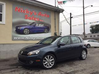 Used 2012 Volkswagen Golf 2.5 - HIGHLINE - AUTO | $74 WEEKLY $0 DOWN! for sale in Gloucester, ON