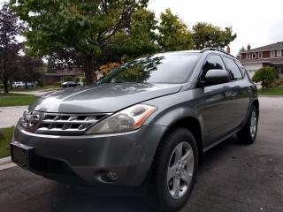 Used 2005 Nissan Murano SL AWD for sale in Etobicoke, ON