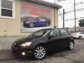 Used 2013 Volkswagen Golf 2.5 - HIGHLINE - LEATHER   $74 WEEKLY $0 DOWN! for sale in Gloucester, ON
