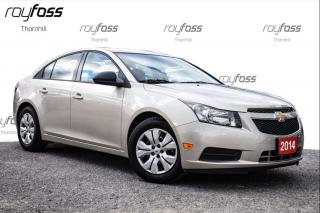 Used 2014 Chevrolet Cruze 2LS ** WOW!!! Only 5018km!!! Auto A/C Power group for sale in Thornhill, ON