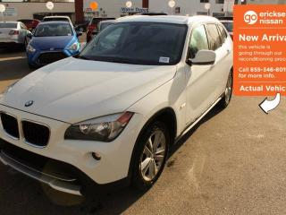 Used 2012 BMW X1 LEATHER, SUNROOF, BLUETOOTH for sale in Edmonton, AB