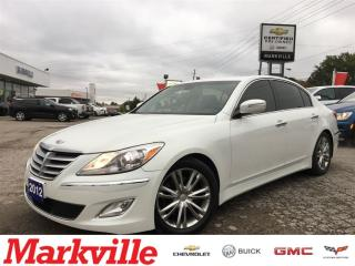 Used 2012 Hyundai Genesis Sedan LOADED-LEATHER-CERTIFIED PREOWNED-MINT CONDITION for sale in Markham, ON