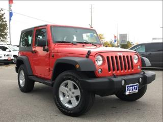 Used 2017 Jeep Wrangler SPORT**3 PIECE HARD TOP** for sale in Mississauga, ON