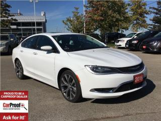 Used 2016 Chrysler 200 C**PANORAMIC SUNROOF**LEATHER HEATED SEATS** for sale in Mississauga, ON