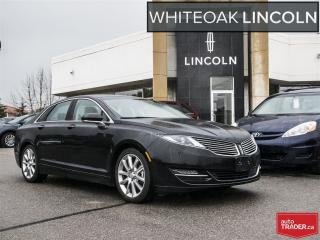 Used 2015 Lincoln MKZ 72mos finance 2.9% o.a.c ext warr to 160000--cpo for sale in Mississauga, ON