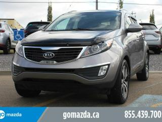 Used 2011 Kia Sportage EX Luxury AWD LEATHER PANORAMIC ROOF NAVIGATION for sale in Edmonton, AB