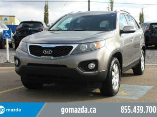 Used 2011 Kia Sorento LX V6 AWD BLUETOOTH HEATED SEATS ACCIDENT FREE for sale in Edmonton, AB