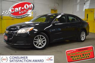 Used 2015 Chevrolet Malibu LT LEATHER SUNROOF FULL PWR GRP REMOTE START for sale in Ottawa, ON