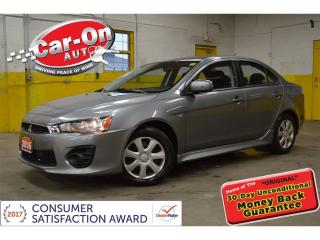 Used 2016 Mitsubishi Lancer AUTO A/C POWER GROUP HEATED SEATS CRUISE for sale in Ottawa, ON