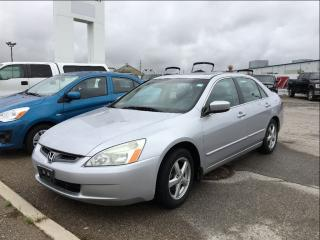 Used 2003 Honda Accord Sedan EX-L at for sale in London, ON