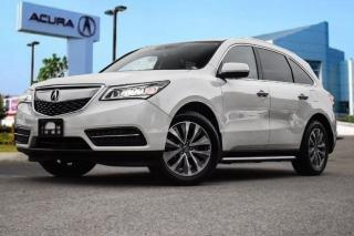 Used 2016 Acura MDX Tech Running Boards|Navi|Bluetooth|Heated Seats|Le for sale in Thornhill, ON