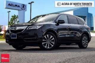 Used 2014 Acura MDX Tech at Navigation|Blind-Spot Warning|Bluetooth|Re for sale in Thornhill, ON