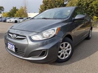 Used 2012 Hyundai Accent GL-new tires/new brakes-remote starter for sale in Mississauga, ON