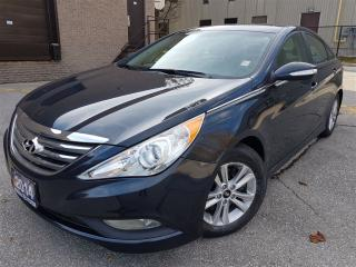 Used 2014 Hyundai Sonata GLS-Sunroof-Rear camera-Certified for sale in Mississauga, ON