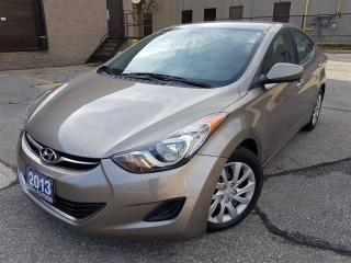 Used 2013 Hyundai Elantra GL-Good service records-Certified for sale in Mississauga, ON