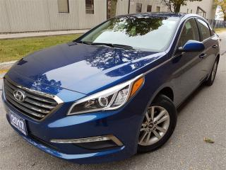 Used 2017 Hyundai Sonata GL-rear view camera-Bluetooth-pristine for sale in Mississauga, ON