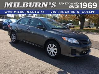 Used 2012 Toyota Corolla CE for sale in Guelph, ON