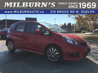 Used 2014 Honda Fit Sport for sale in Guelph, ON