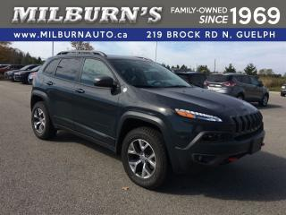 Used 2017 Jeep Cherokee Trailhawk 4X4 for sale in Guelph, ON