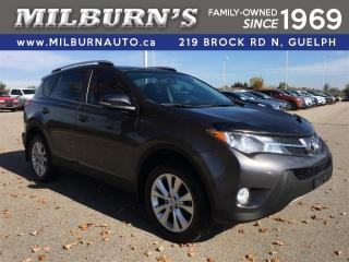 Used 2013 Toyota RAV4 LIMITED AWD for sale in Guelph, ON
