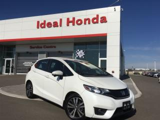 Used 2016 Honda Fit EX-L, leather, heated seats, back up camera for sale in Mississauga, ON