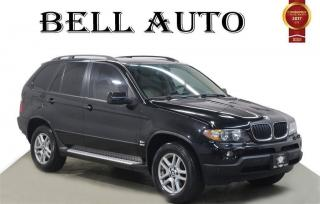 Used 2005 BMW X5 3.0i PREMIUM PKG LEATHER MOONROOF BACKUP SENSORS for sale in North York, ON