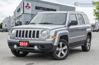 Used 2016 Jeep Patriot 4X4 | LEATHER | SUNROOF | CARPROOF | for sale in Mississauga, ON