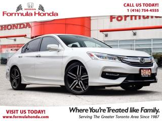 Used 2017 Honda Accord Sedan TOURING | TOP OF THE LINE | EXECUTIVE DEMO for sale in Scarborough, ON