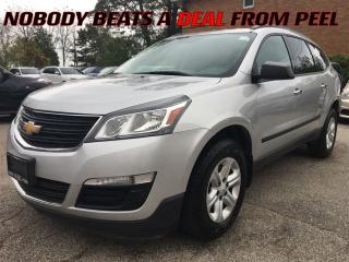 Used 2015 Chevrolet Traverse LS**BACK-UP CAM**BLUETOOTH**XM RADIO** for sale in Mississauga, ON