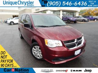 Used 2017 Dodge Grand Caravan CVP/SXT|TINTS|BLUETOOTH| for sale in Burlington, ON
