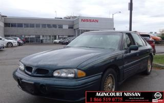 Used 1998 Pontiac Bonneville SE |AS-IS SUPER SAVER| for sale in Scarborough, ON
