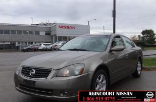 Used 2005 Nissan Altima 2.5 S  AS-IS SUPER SAVER  for sale in Scarborough, ON