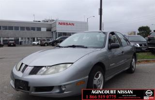 Used 2004 Pontiac Sunfire SL |AS-IS SUPER SAVER| for sale in Scarborough, ON