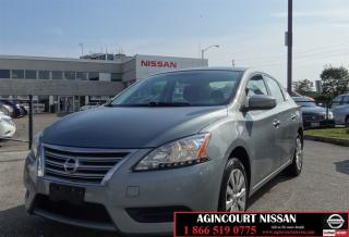 Used 2013 Nissan Sentra 1.8 SV |No Accidents|One Owner| for sale in Scarborough, ON