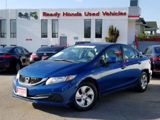 Used 2013 Honda Civic LX - Heated Seats - Bluetooth - New Tires for sale in Mississauga, ON