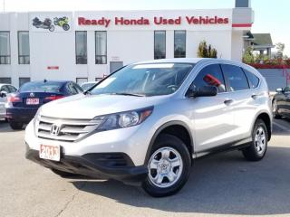 Used 2013 Honda CR-V LX - Back up camera - Heated Seats for sale in Mississauga, ON