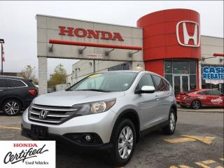 Used 2012 Honda CR-V EX-L, low mileage, one owner for sale in Scarborough, ON