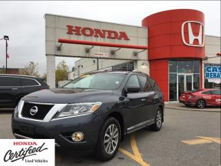 Used 2014 Nissan Pathfinder SL, black leather, power roof for sale in Scarborough, ON