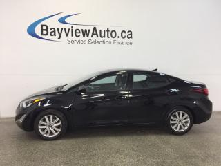 Used 2016 Hyundai Elantra SE- AUTO|SUNROOF|HTD STS|REV CAM|BLUETOOTH|CRUISE! for sale in Belleville, ON