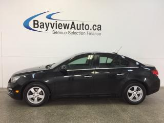 Used 2015 Chevrolet Cruze LT- TURBO|REM STRT|ROOF|HTD LTHR|REV CAM|PIONEER! for sale in Belleville, ON