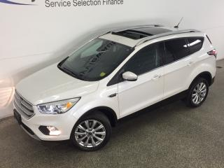 Used 2017 Ford Escape TITANIUM- 4WD PANOROOF HTD LTHR BLIS APA NAV SONY! for sale in Belleville, ON