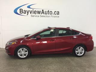 Used 2017 Chevrolet Cruze LT- TURBO|ROOF|HTD STS|BOSE|RCTA|REV CAM|CRUISE! for sale in Belleville, ON