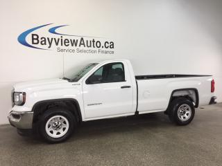 Used 2016 GMC Sierra 1500 - 5.3L|4x4|HITCH|A/C|REGULAR CAB LONG BOX! for sale in Belleville, ON