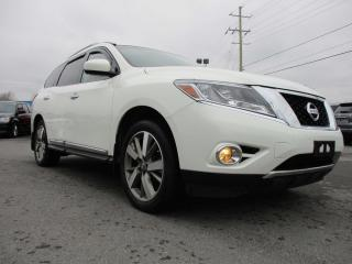 Used 2014 Nissan Pathfinder Platinum for sale in Kingston, ON