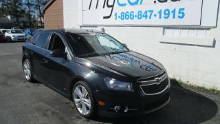 Used 2012 Chevrolet Cruze LT Turbo for sale in Richmond, ON
