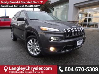 Used 2017 Jeep Cherokee Limited *ACCIDENT FREE*ONE OWNER*LOCAL BC CAR* for sale in Surrey, BC