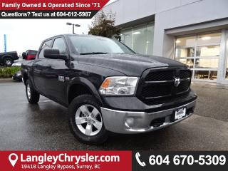 Used 2017 Dodge Ram 1500 SLT *ACCIDENT FREE*ONE OWNER*LOCAL BC TRUCK* for sale in Surrey, BC