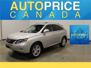 Used 2010 Lexus RX 450h ULTRA PREMIUM NAVI DVD MOONROOF for sale in Mississauga, ON